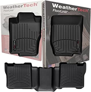 Full Set WeatherTech All Weather Custom Fit Floor Mat Liner for 2013-2014 Jeep Grand Cherokee