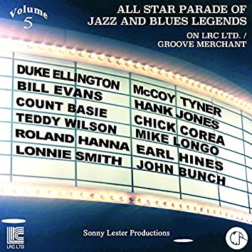 All Star Parade of Jazz and Blues Legends, Vol. 5 - The Pianos