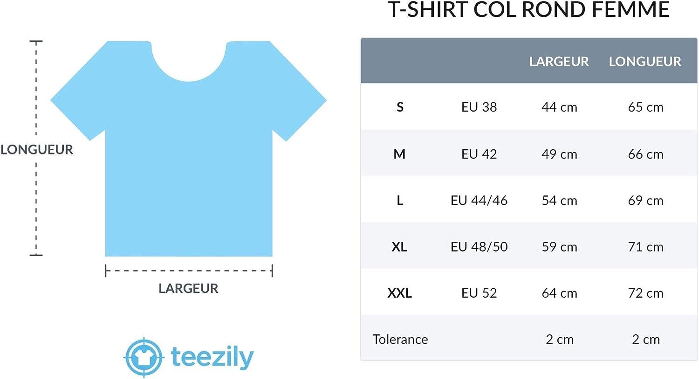 TEEZILY T-Shirt Femme Definition Vai.Te.Forder