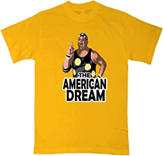 Shedd Shirts Gold Dusty Rhodes WWF T-Shirt