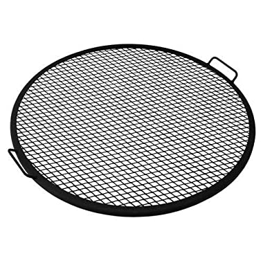 Sunnydaze Fire Pit Cooking Grill, X-Marks BBQ Grate, 36 Inch