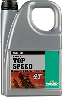 Motorex Top Speed 4T Oil - 15W50 - 4 Liter 171-435-400