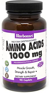 BLUEBONNET Nutrition Amino Acids 1000 MG, 90 CT