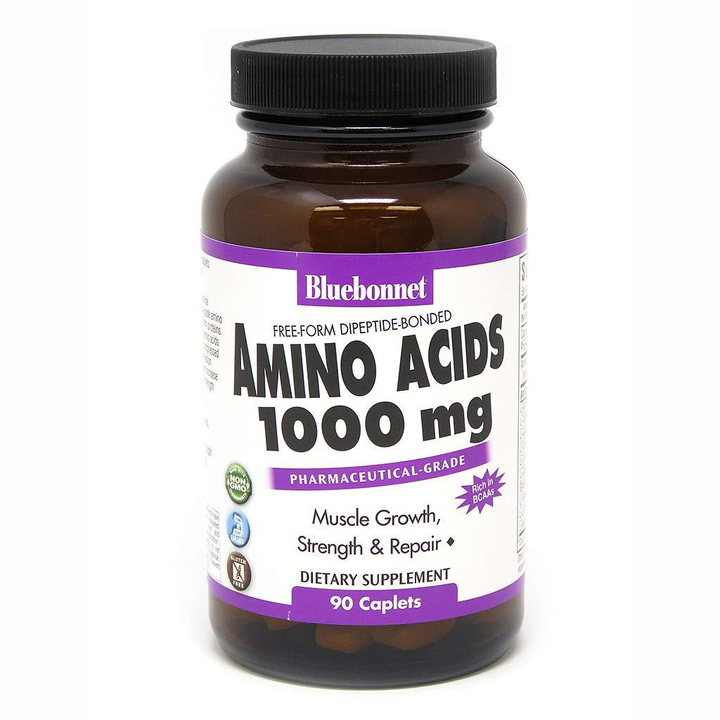 Bluebonnet Amino Acids Capsules Count