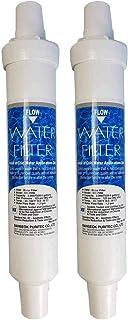 DAEWOO DD-7098 2x Filtre d'eau authentique, en ligne externe, paquet de 2
