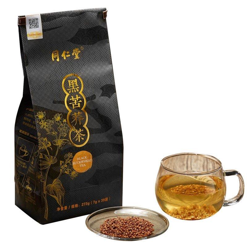 Black Buckwheat Teabags 7g39bags Tongrentang Chinese Flora Herba