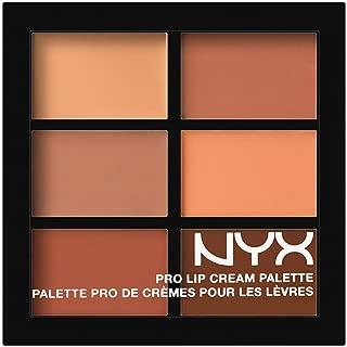Son kem – NYX PROFESSIONAL MAKEUP Pro Lip Cream Palette, The Nudes, 0.317 Ounce
