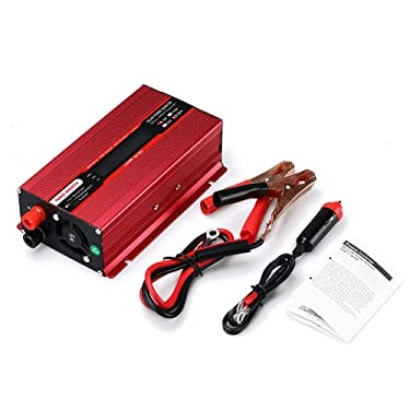 3000W Car Solar Power Inverter DC 12V to AC 220V USB Sine Wave Converter Modified Sine Wave