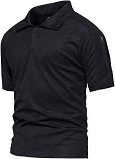 Men's Tactical Performance Polo Short and Long Sleeve 1/4...