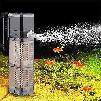 Fish Tank Filter 3-in-1 Aquarium Submersible Pump Water Pump for Fish Tank 7W 8W 20W 25W (CHJ-1502/25W)