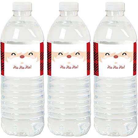 30 CHRISTMAS PARTY FAV0RS MELTED SNOWMAN WATER BOTTLE LABELS