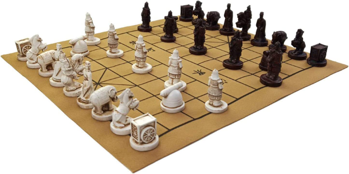 TBNOONE Portable Price reduction Chinese Chess 1 year warranty Games Set Including Sy and Pieces