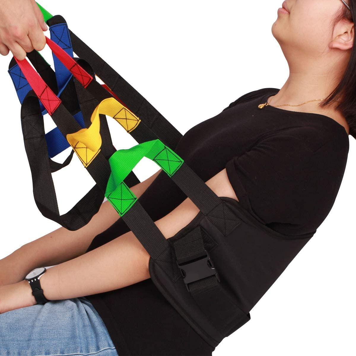 Kangwell Shipping included Over item handling Patient Lift Belt Assistance Handles Colors with 5