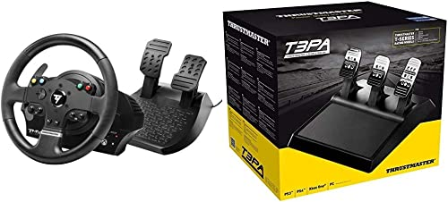Thrustmaster TMX Force Feedback Racing Wheel (XBOX Series X/S, XOne & Windows) & T3PA Add-On (PS4, XBOX Series X/S, O...