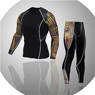 2019 New Winter Men Thermal Underwear Sets Elastic Warm Fleece Long Johns Breathable Suits
