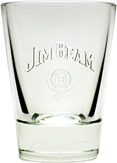 1 Jim Beam Whiskey Tumbler Glas geeicht 2cl/4cl