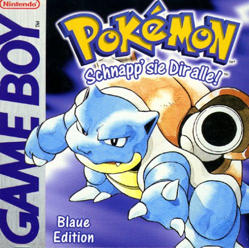 Pokémon - Blaue Edition