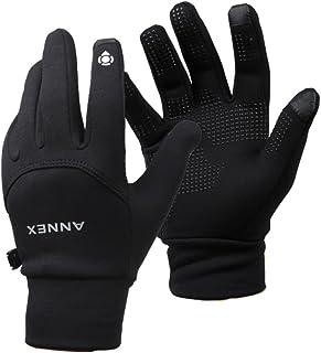 ANNEX Smartphone Touch Screen Gloves Men's Women's Winter Warm Outdoor Sports Black