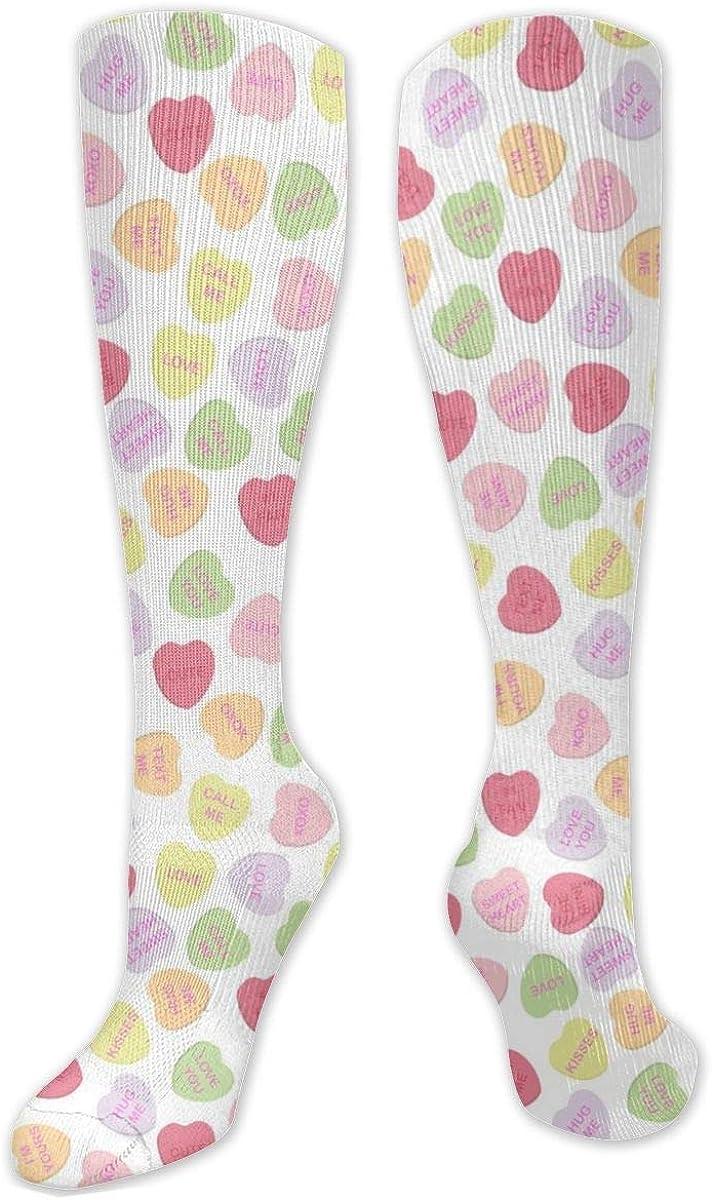 Lovely Heart Knee High Socks Leg Warmer Dresses Long Boot Stockings For Womens Cosplay Daily Wear