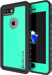 iPhone 7s Plus Waterproof Case, Punkcase [StudStar Series] [Slim Fit] [IP68 Certified] [Shockproof] [Dirtproof] [Snowproof] Armor Cover for Apple iPhone 7 Plus & 7s + [Teal]