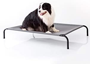Bedsure Elevated Dog Bed Waterproof Raised Cooling Bed, Large, 124x90x20cm