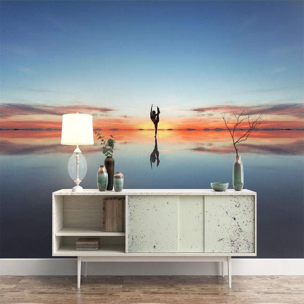 ZXDHNS Photo Wallpaper Free Shipping sale Cheap Bargain Gift Wall Mural Yoga Sunrise Seas - Meditation