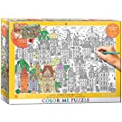 EuroGraphics Town Houses Color Me Puzzle (300 Piece)