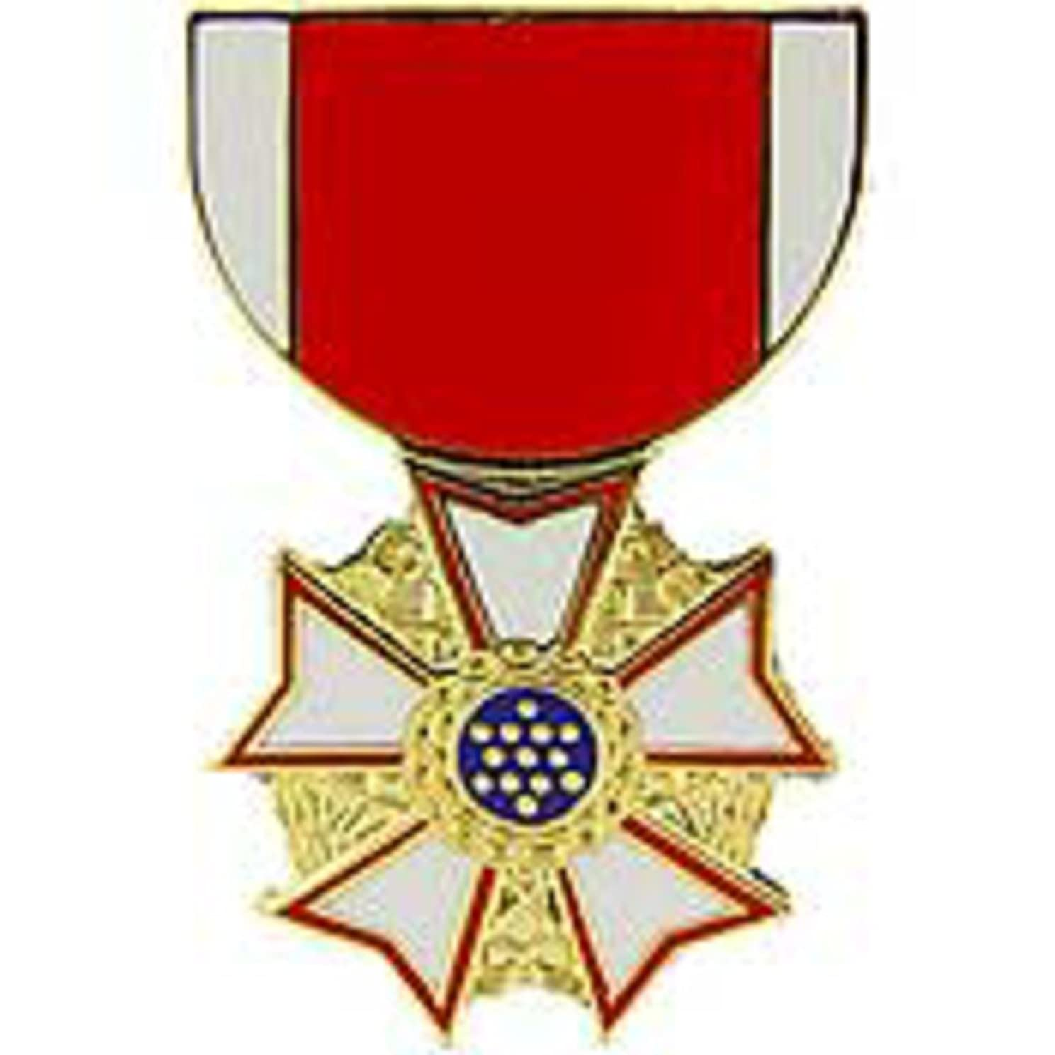 EagleEmblems P15312 Pin-Medal,Legion of Merit (1-3/16'')