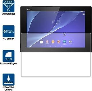 Beiuns Vidrio Templado Protector de Pantalla para Sony Xperia Tablet Z2