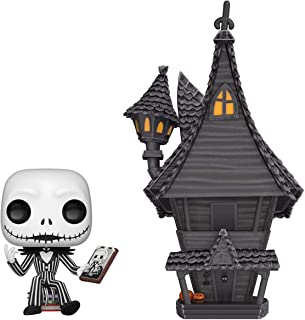 Funko- Pop Figura De Vinil: Town: Nightmare Before Christmas-Jack-Jack's House W Coleccionable, Multicolor (42599)