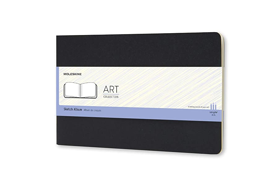 Moleskine Art Sketch Album, Hard Cover, Large (5