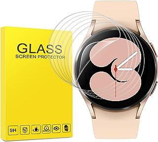 (6 حزم) واقي شاشة Samsung Galaxy Watch 4 (40 مم) ، طبقة TPU مرنة مضادة للخدش وخالية من الفقاعات المضادة لبصمات الأصابع سهل...