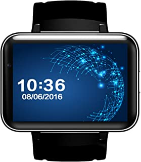 Elenxs DM98 SIM Card 3G Smart Watch Bluetooth 4.0 GPS WiFi Andriod 4.4.2 2.2 Inch Watch