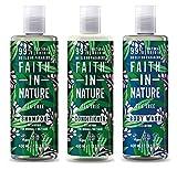Faith in Nature Tea Tree Shampoo, conidtioner & Shower Gel Trio