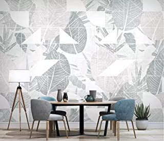 3D Wallpaper Photo Murals Roll Wall Papers Home Decor Paper Nordic Tropical Plants and Flowers Wallpapers for Living Room Walls 3D Picture,240Cm (H) X 320Cm (W)