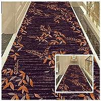 CnCnCn 廊下 カーペット ランナー フロアマット 入り口 玄関マット リビングルーム 寝室 エリアラグ 洗える (Color : A, Size : 1.2x7m)