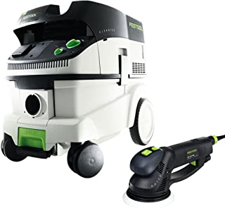 Festool P26571810 RO 150 FEQ Rotex Sander + CT 26 Dust Extractor Package