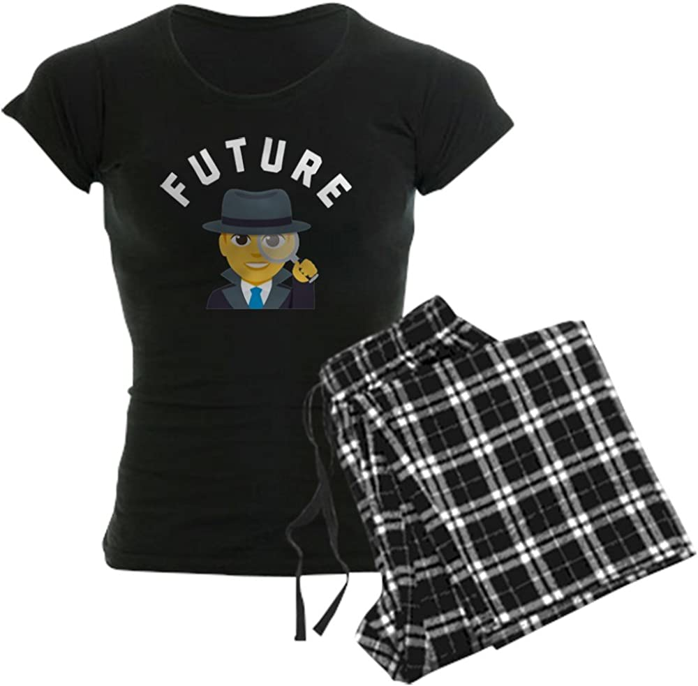 CafePress ! Super beauty product restock quality top! Directly managed store Emoji Future PJs Women's Detective