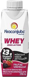 Whey Zero Lactose Sabor Frutas Vermelhas Piracanjuba 250ml