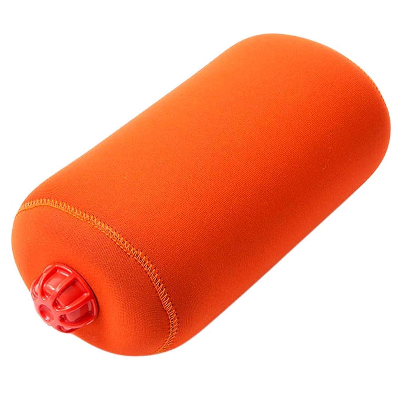 四面体レクリエーション読むやわらか湯たんぽ 旅行用タイプ 特大 オレンジ