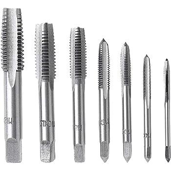 M2//M2.5//M3//M3.5//M4//M5//M6//M8 HSS Metric Straight Flute Thread Screw Tap Plug ÁÁ