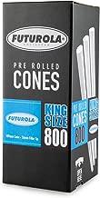 Futurola - Unrefined Super Thin Pre Rolled Cones - (800, King - Classic White)