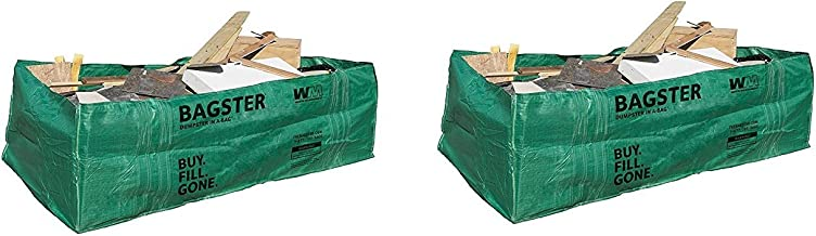 Bagster 3CUYD Dumpster in a Bag (Pack of 2)