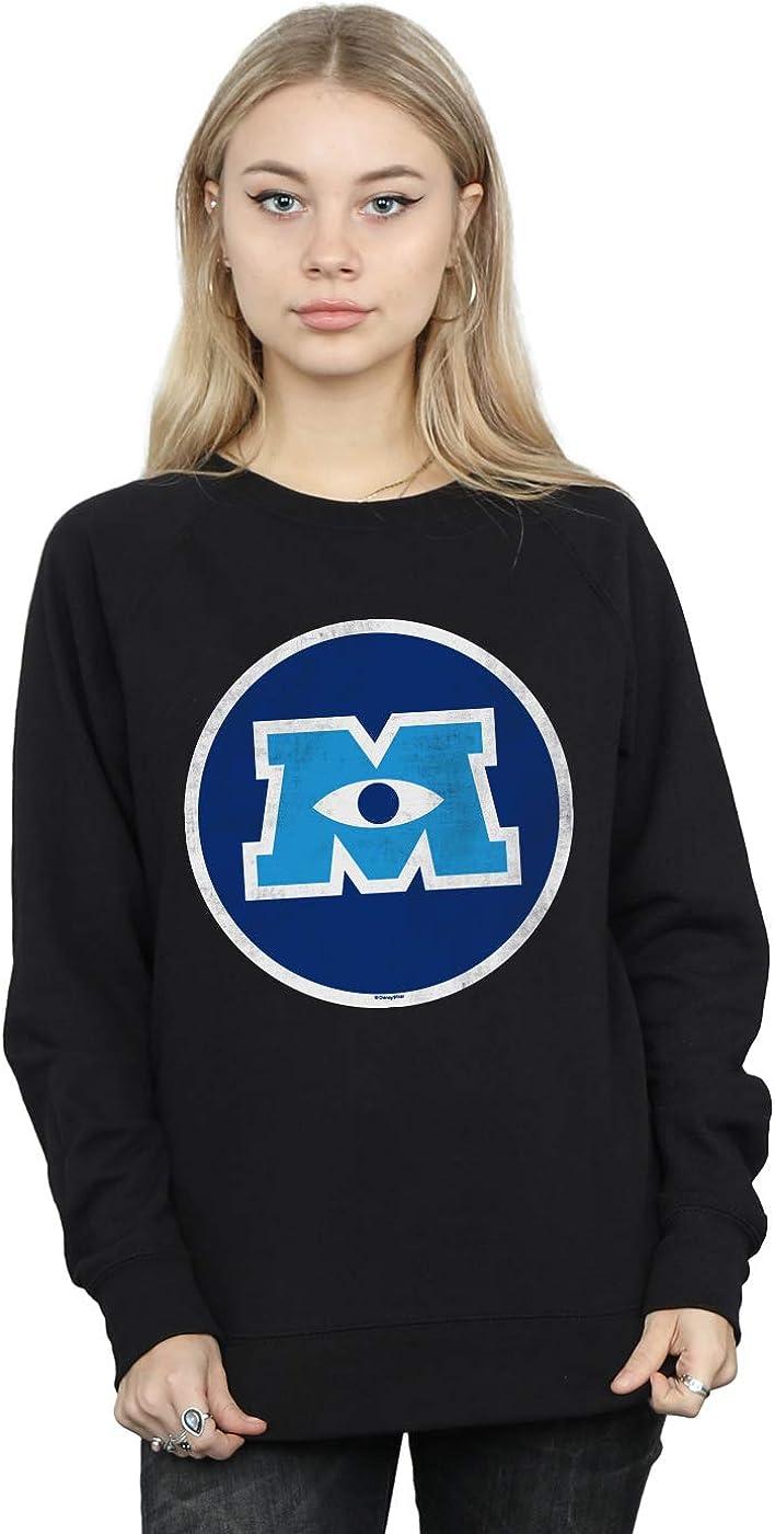 Disney Women's Virginia Beach Mall Monsters University Sweatshirt Luxury Emblem Monster