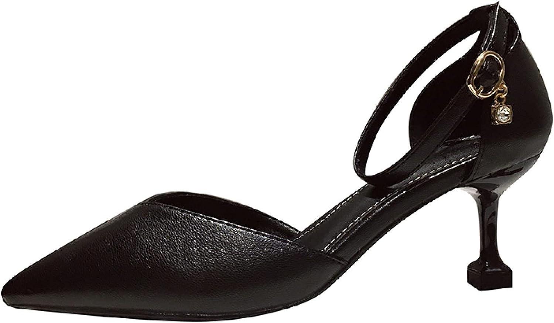 Spasm Omaha Mall price Summer Brilliant Kitten Heeled Sandals Banqu Vintage Toe Pointed