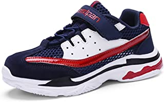 LGXH Summer Boys Girls Running Athletic Sneakers Breathable Mesh Deodorant Sport Tennis Shoes for Kids