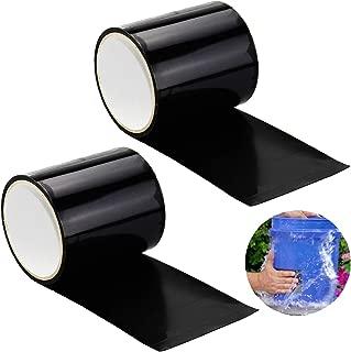 INTVN 2pcs Cinta Impermeable, PVC Reparación de Fugas Cinta Autoadhesiva, Herramienta de Fijación para Emergencia Pipa Plumbing y Tubo de Agua Fugas, Cables Eléctricos