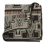 RUTH&BOAZ Outdoor Wool Blend Blanket Ethnic Inka Pattern(P) (B-Beige, Normal)