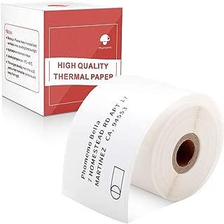 Multi-Purpose Square Self-Adhesive Label- Compatible for Phomemo M110 Label Printer-1 Roll of 130 Labels 40x60mm
