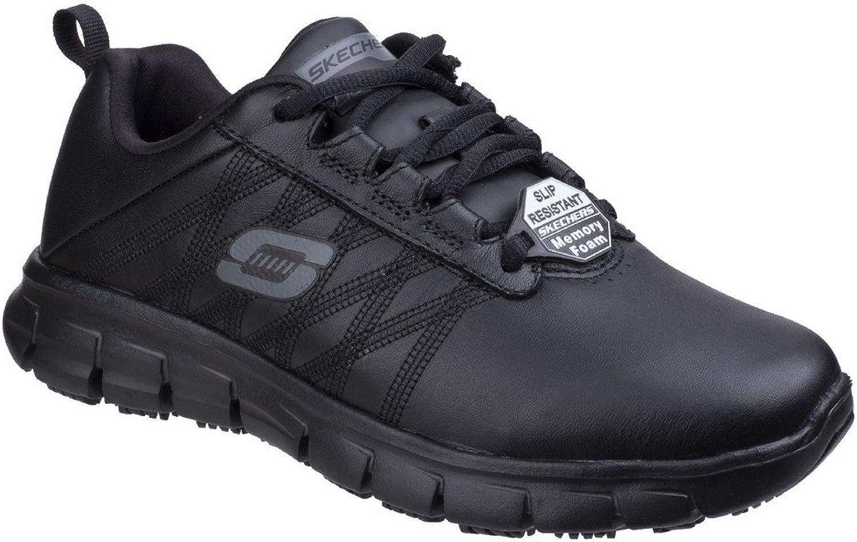 Skechers Womens Ladies SK76576EC Sure Track Erath SR Ladies Lace Up shoes